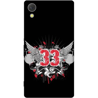 Print Opera Hard Plastic Designer Printed Phone Cover for Sony Xperia C6 - Thirty Three