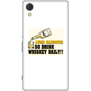 Print Opera Hard Plastic Designer Printed Phone Cover for Sony Xperia C6 - Avoid hangover