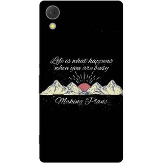 Print Opera Hard Plastic Designer Printed Phone Cover for Sony Xperia C6 - Making plans
