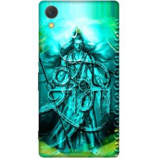 Print Opera Hard Plastic Designer Printed Phone Cover for Sony Xperia C6 - Shambhu