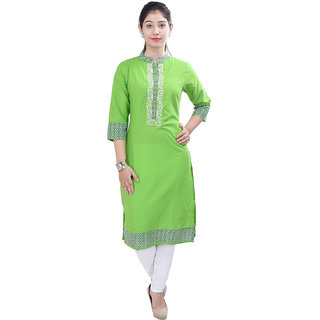 Purvahi-Cotton-Embroidered--Kurti