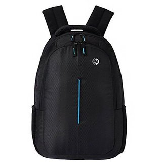 HP Black Polyester Casual Backpacks