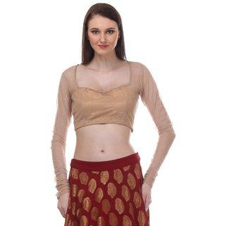 AIDA Net Crop Top For Women'S - Gold