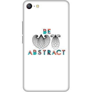 Print Opera Hard Plastic Designer Printed Phone Cover for Vivo Y66 / Vivo V5 Lite - Be Abstract
