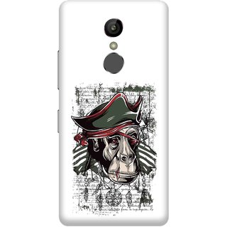 Print Opera Hard Plastic Designer Printed Phone Cover for Gionee S6s - Monkey