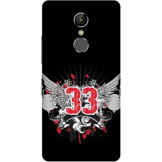 Print Opera Hard Plastic Designer Printed Phone Cover for Gionee S6s - Thirty Three