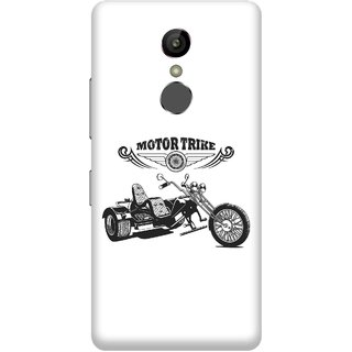 Print Opera Hard Plastic Designer Printed Phone Cover for Gionee S6s - Motor Trike