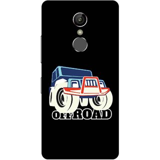Print Opera Hard Plastic Designer Printed Phone Cover for Gionee S6s - Off Road