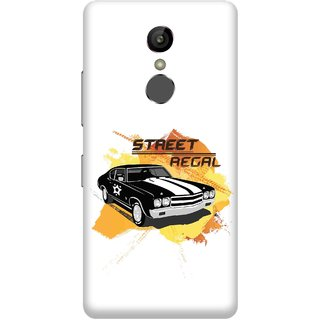 Print Opera Hard Plastic Designer Printed Phone Cover for Gionee S6s - Street regal