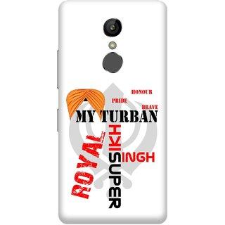 Print Opera Hard Plastic Designer Printed Phone Cover for Gionee S6s - My turban