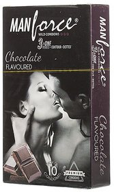 Manforce Extra Dotted Chocolate Condom 21 pieces