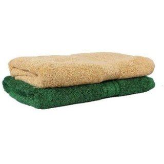 New Cotton Free Size Multi-color Bath Towel set of 2