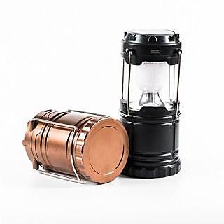 3 in 1 Solar/Rechargeable 6-W Led Light Lantern Lamp Inbuilt Mobile Usb Power Bank-G85