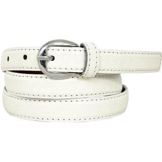 Altek Resin Belt for Women in Color White (Model No belt1216white )