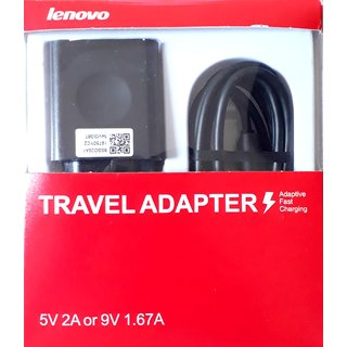 Lenovo Travel Charger with USB Cable - For Lenovo A6000 Plus / A7000 K3 Note/ K4