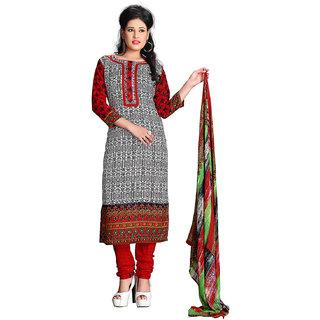 0303439a20 Kesu Fashion Women's Printed Un-stitched Salwar Suits / Dress Materials ( Cotton FabricMulti ColorZH1011)