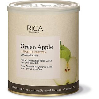 Rica Green Apple Wax. With Strips