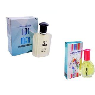 Set of (2) 101 MEN ~ Jasmine -130ml
