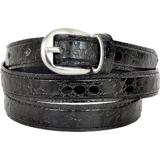 Altek Black Colored Women Casual Belt (Model No BELT1216BLACK )