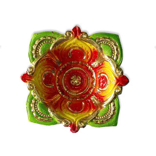 Handmade Earthen Clay / Terracotta Decorative Dipawali / Diwali Diya / Tealight / Oil Lamps for Pooja / Puja