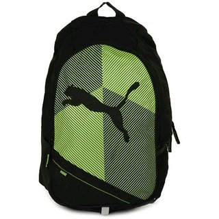 b8818e3c4e1a Buy Puma Echo Plus 15 L Backpack (Black Green) Bag Online - Get 57% Off