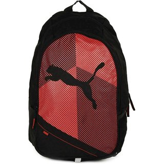 Puma Echo Plus 15 L Backpack (Black Red) Bag
