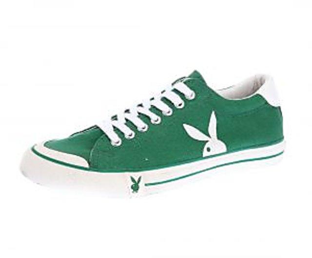 Shop Playboy- Pb008-green Men's Shoes
