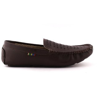 Admire Men's Brown Loafers