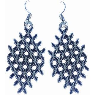 Trendy long earing oxidized earrings