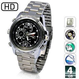 SPY Still Wrist Watch Camera Inbuild 32GB memory. Hidden audio /video Recording.While recording no light Flashes.Origina