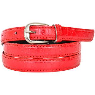 Altek Red Colored Women Casual Belt (Model No BELT1216RED )