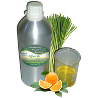 ecoplanet Aromatherapy Diffuser oil Rejuvenative blend of Essential Oils of Lemongrass and Orange 1000g