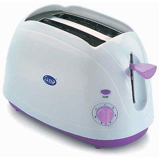 Glen GL-3015 Pop Up Toaster (White)