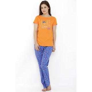 Summer Cycle T-Shirt Pyjama Set