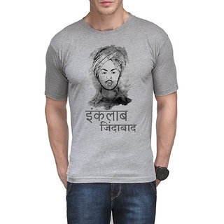 FH Brand Legend Bhagat Singh Cotton T-Shirts for men
