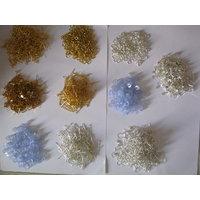 Jewel Making Kit-Golden&Silver Finish Ear Hooks,Rings,Stud,Head Pin&Bush-1000pcs