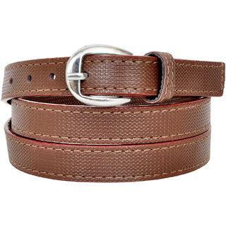 Altek Brown Colored Women Casual Belt (Model No BELT1214BROWN )