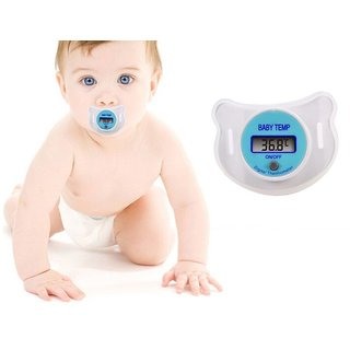 Digital Thermometer Baby Nipple Thermomete LCD Digital Baby Pacifier Thermometer Health Safety Care