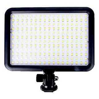 Digitek LED-D204 Professional Photo Video Light Led D-204 Dslr Camera Mount with Battery F550 and Charger (Black)