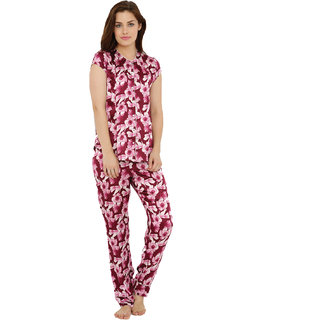Gorgeous Floral Top Pyjama Set