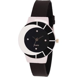i diva's lifevNG AGE OF FASHION By Zibra BLACK SHEDDO Analog Watch - For Women