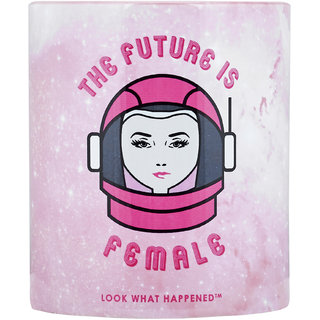 Look What Happened Coffee Mug - FUTURE IS FEMALE