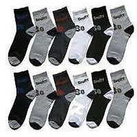 Mens New  Fashion Ankle Length Socks Pack Of 12