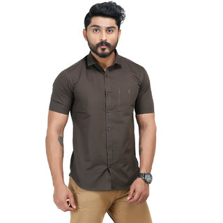 Olive Brown Shirt