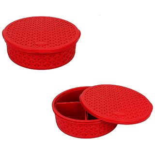 Goodies Basket - Candy Container - Red