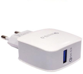 Systene Qualcomm Quick Turbo Wall Charger Travel Charger Adapter for All Smart Phones