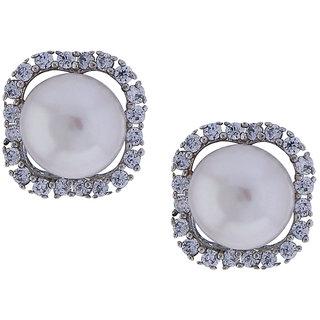 Sri Jagdamba Pearls Trendy Cz Studs