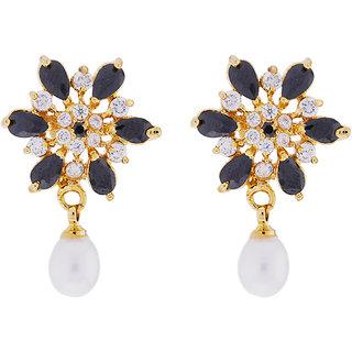 Sri Jagdamba Pearls Heema Drop Earrings
