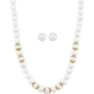 Sri Jagdamba Pearls Charvy Pearl Necklace