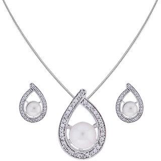 Sri Jagdamba Pearls Natasha Pendant Set
